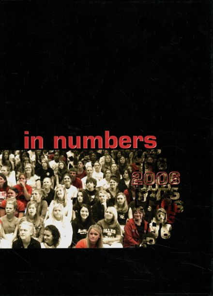 2006 Boiling Springs High School Yearbook Cover