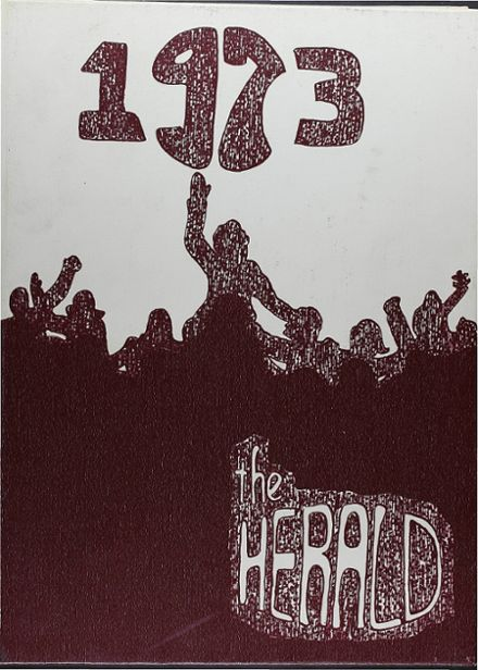 1973 Windsor Locks High School Yearbook Cover