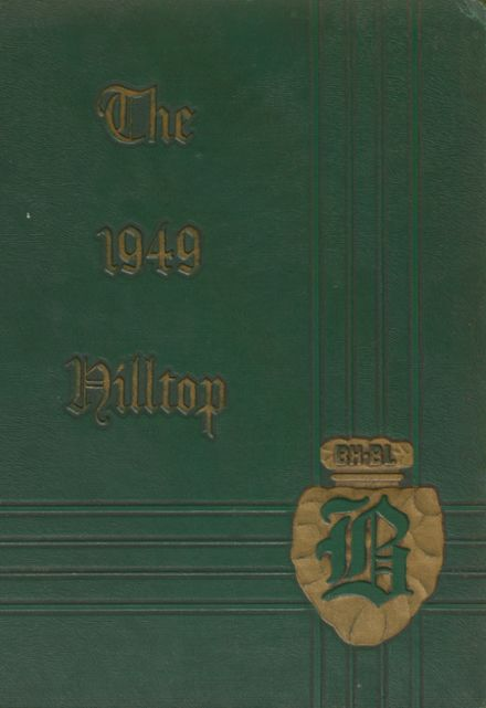 1949 Burnt Hills-Ballston Lake High School Yearbook Page 1