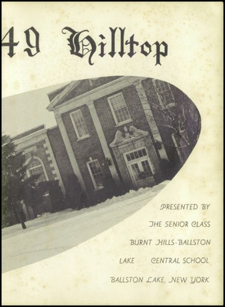 1949 Burnt Hills-Ballston Lake High School Yearbook Page 7