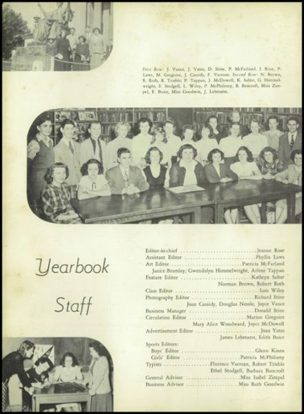 1949 Burnt Hills-Ballston Lake High School Yearbook Page 8