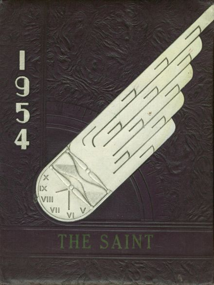 1954 St. Thomas High School Yearbook Cover
