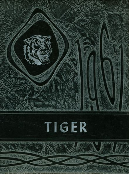 1961 Roff High School Yearbook Cover