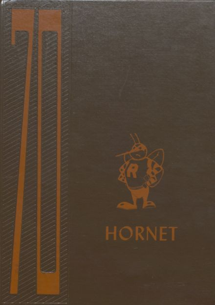 1970 Richland Center High School Yearbook Cover