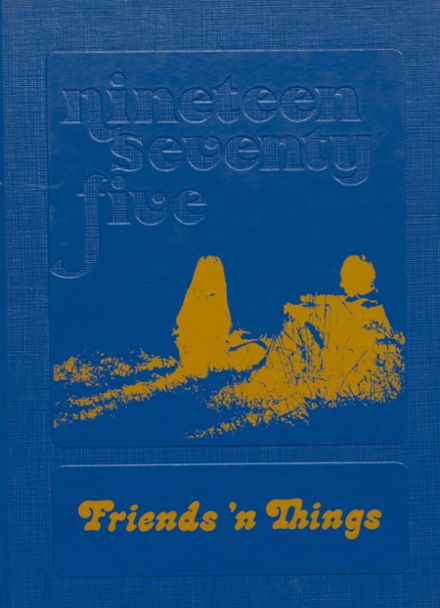 1975 Osceola High School Yearbook Cover