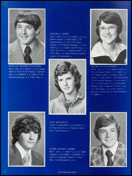 1975 Osceola High School Yearbook Page 8
