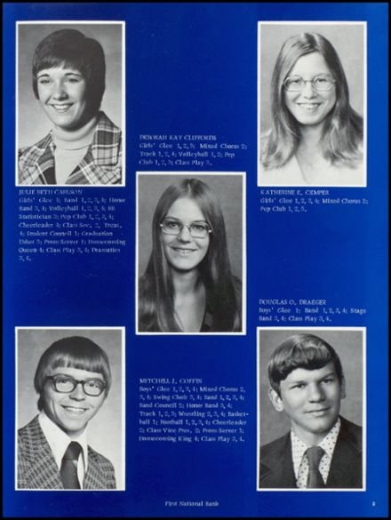 1975 Osceola High School Yearbook Page 9