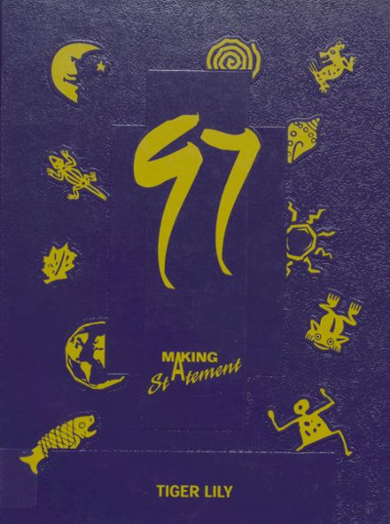 1997 Port Allegany High School Yearbook Cover