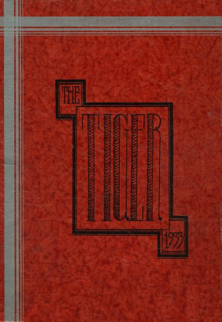 1933 Warsaw High School Yearbook Cover
