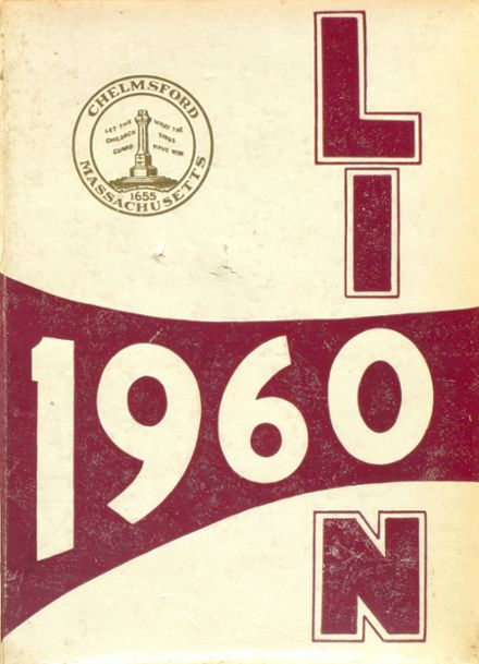 1960 Chelmsford High School Yearbook Cover