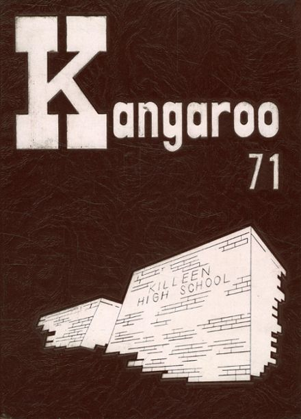 1971 Killeen High School Yearbook Cover