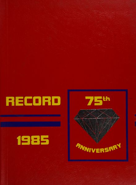 1985 Frankford High School Yearbook Cover