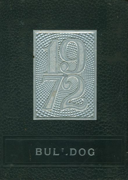 1972 Sparta Township High School Yearbook Cover