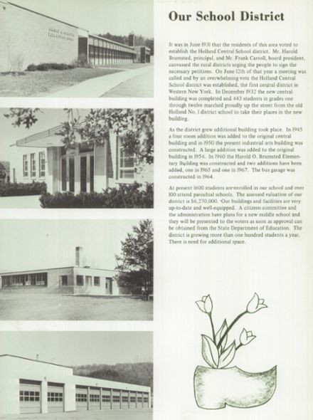 1969 Holland Central High School Yearbook Page 9