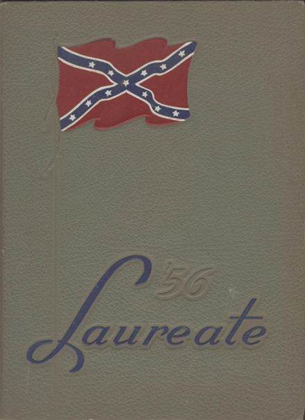 1956 Brown High School Yearbook Cover