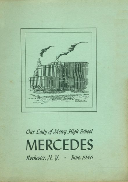 1946 Our Lady of Mercy High School Yearbook Cover