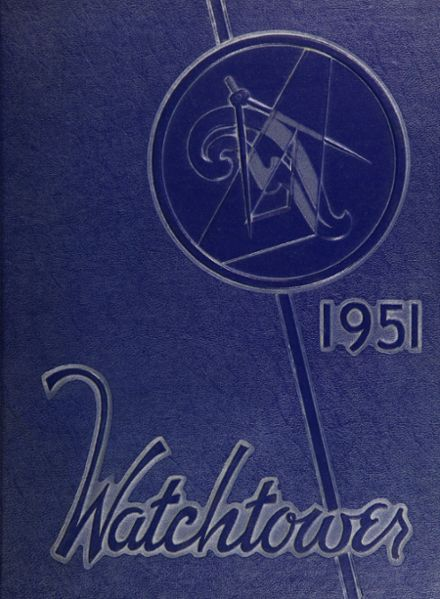 1951 Beverly Hills High School Yearbook Cover