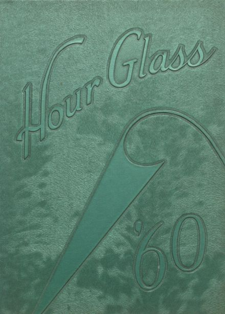 1960 Anniston High School Yearbook Cover