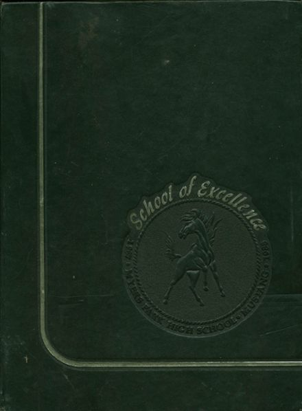 1988 Myers Park High School Yearbook Cover