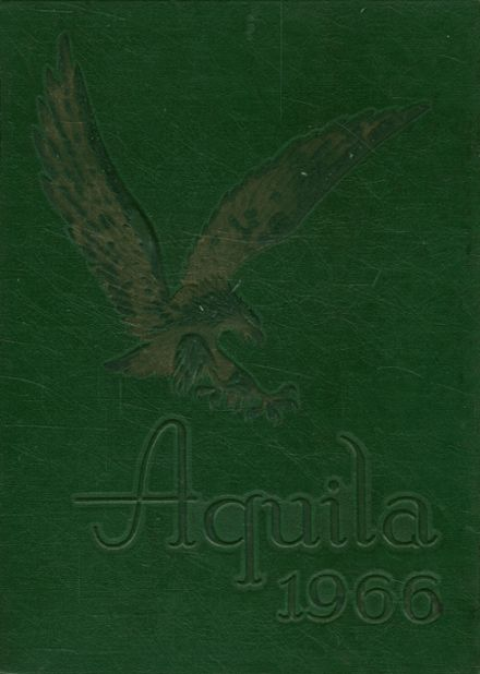 1966 Smith High School Yearbook Cover