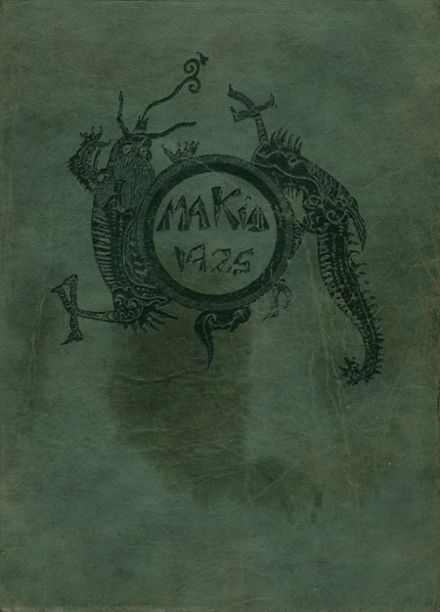 1925 Redlands High School Yearbook Cover