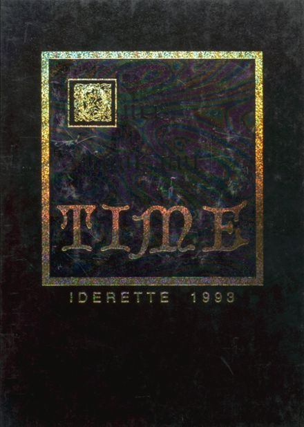 1993 Ider High School Yearbook Cover