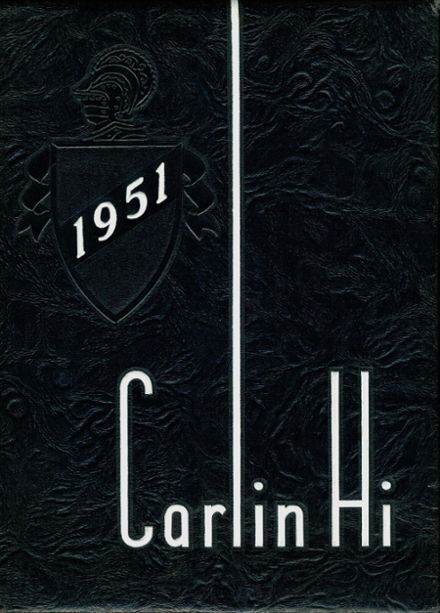 1951 Carlinville High School Yearbook Cover