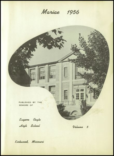 1956 Coyle High School Yearbook Page 5