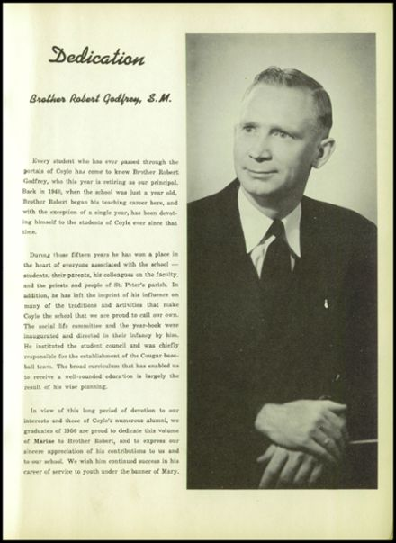 1956 Coyle High School Yearbook Page 9