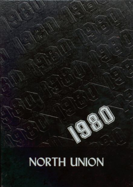 1980 North Union High School Yearbook Cover