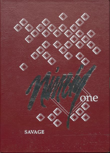 1991 Wynnewood High School Yearbook Cover