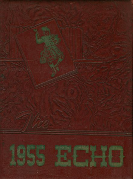1955 Highland High School Yearbook Cover