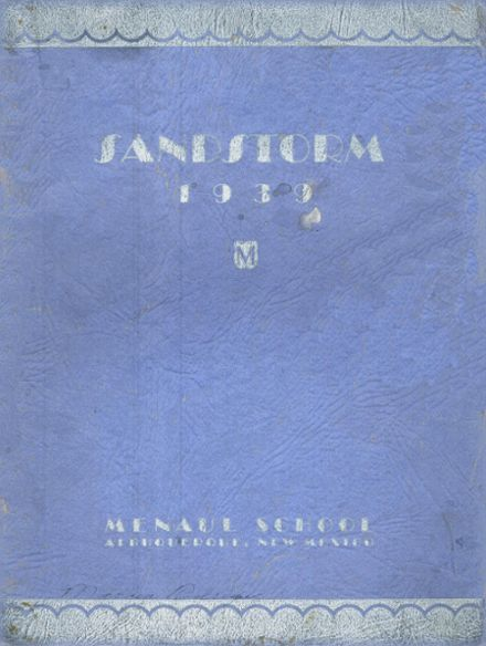 1939 Menaul High School Yearbook Cover