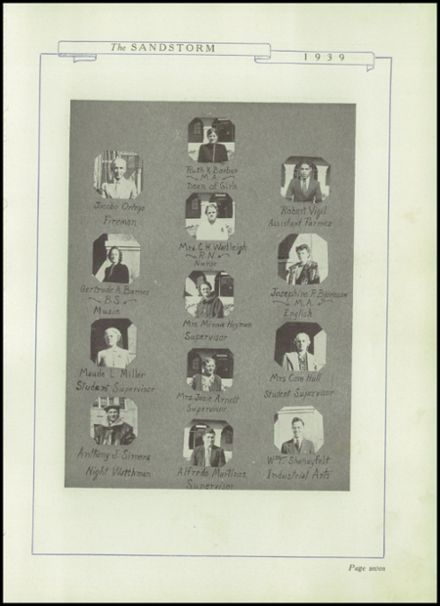 1939 Menaul High School Yearbook Page 9