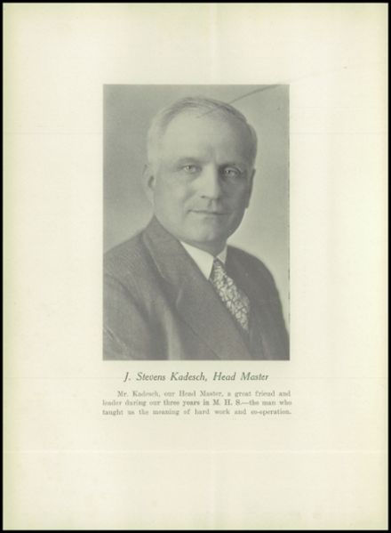 1929 Medford High School Yearbook Page 6
