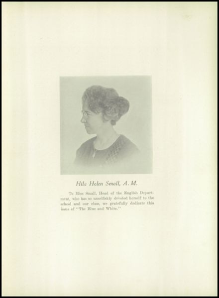1929 Medford High School Yearbook Page 9