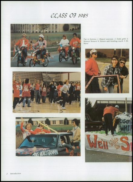 1985 Kimberly High School Yearbook Page 6