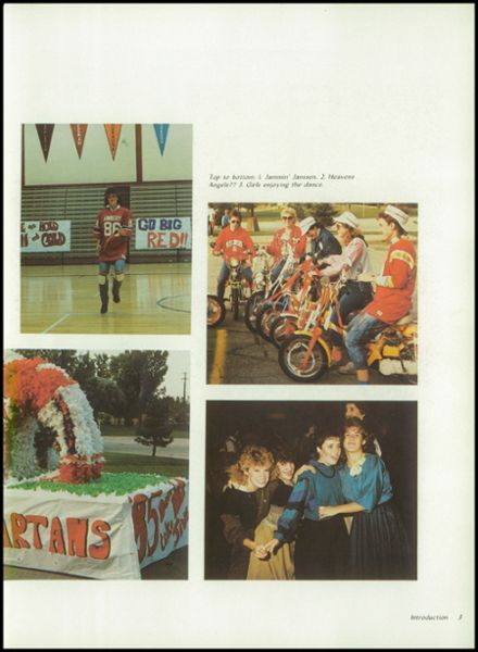 1985 Kimberly High School Yearbook Page 7