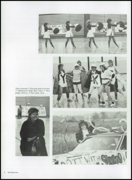 1985 Kimberly High School Yearbook Page 8
