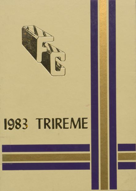 1983 Ford City High School Yearbook Cover