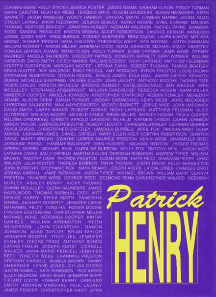 1993 Patrick Henry High School Yearbook Cover