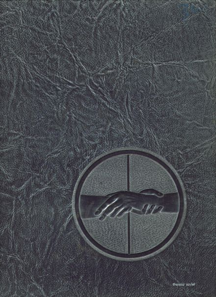 1972 Hagerstown High School Yearbook Cover