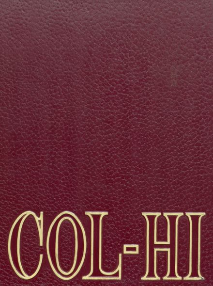 1967 College High School Yearbook Cover