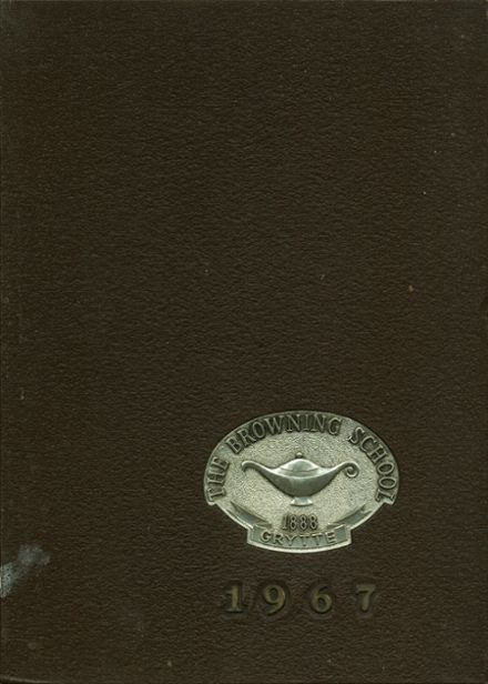 1967 Browning School Yearbook Cover