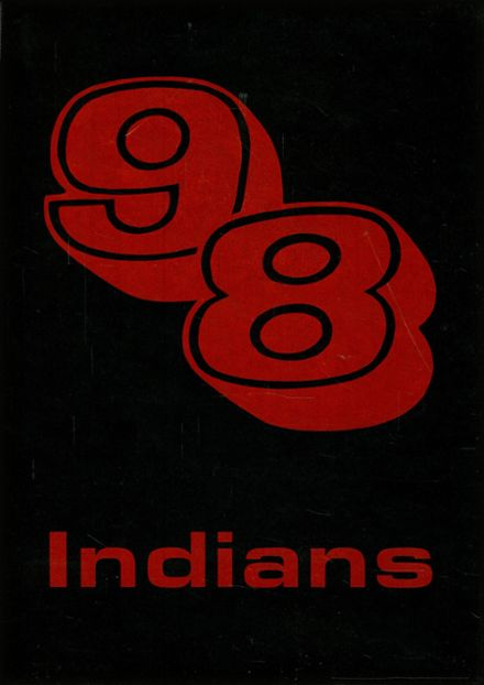 1998 Campbell High School Yearbook Cover
