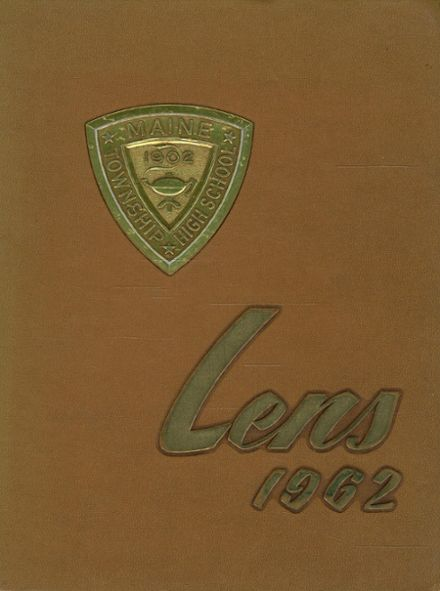1962 Maine Township High School Yearbook Cover