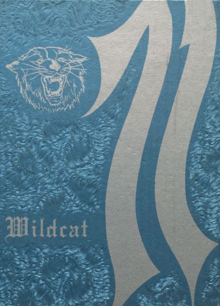 1971 Welch High School Yearbook Cover