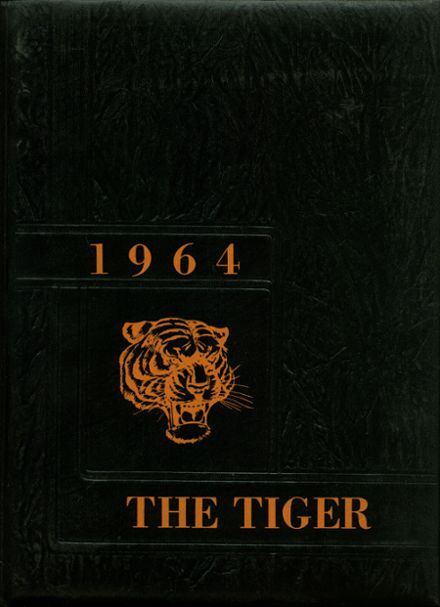 1964 Mulberry High School Yearbook Cover