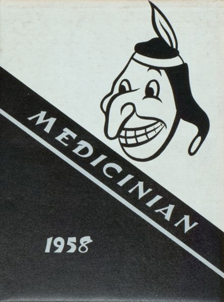 1958 Medicine Lodge High School Yearbook Cover