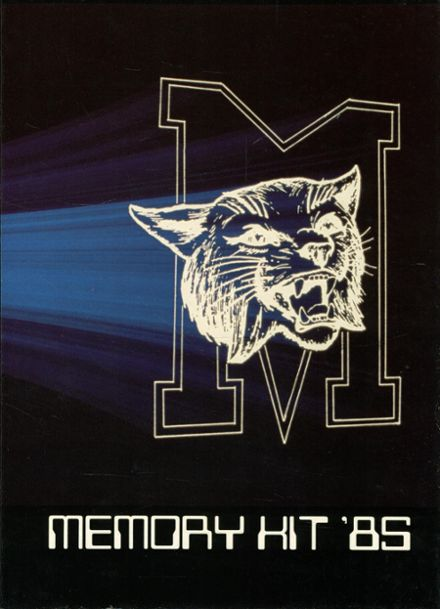 1985 Marion High School Yearbook Cover